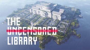 В Minecraft открылась онлайн библиотека со статьями не прошедшими цензуру