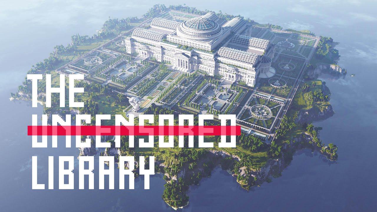 The Uncensored Library - онлайн библиотека в Майнкрафт
