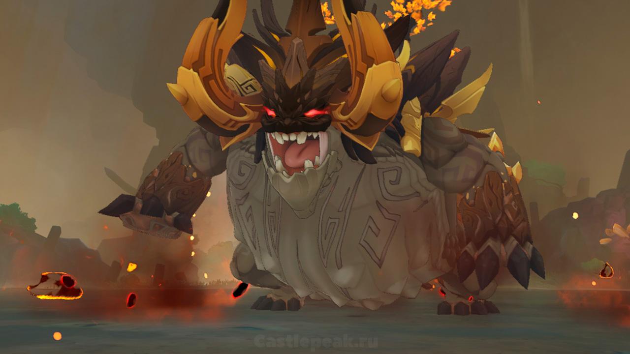 Аждаха в Genshin Impact