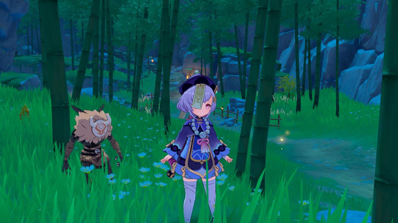 Бамбуковый лес в Genshin Impact