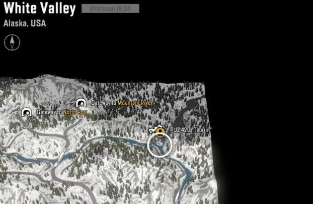 Местоположение улучшения на Белой Долине