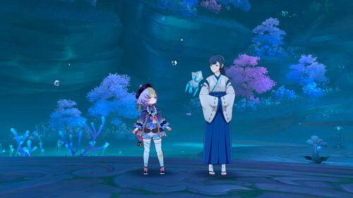 Задание мира «Лунная бездна» в Genshin Impact