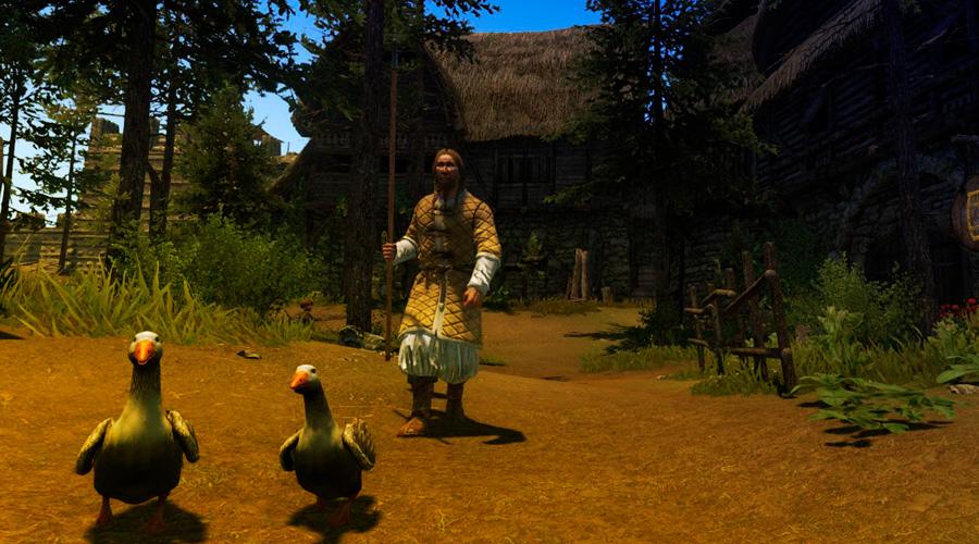 Деревня в Mount & Blade 2: Bannerlord