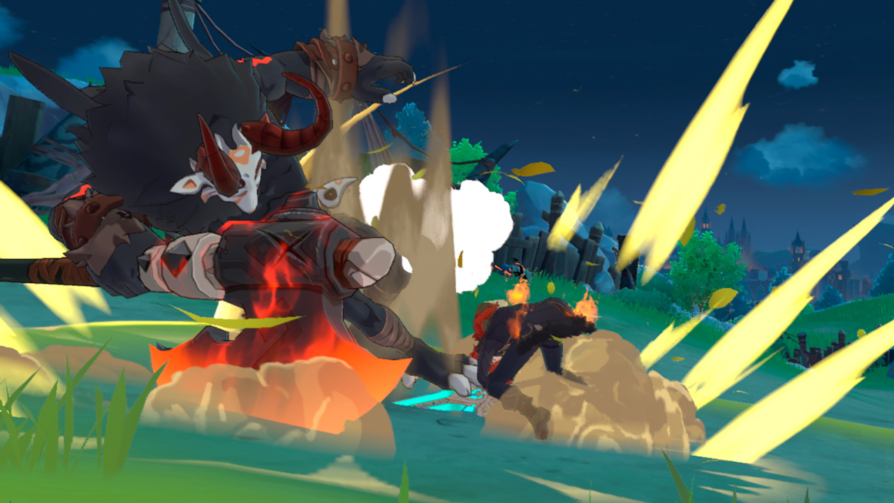 Dragon strike в Genshin Impact