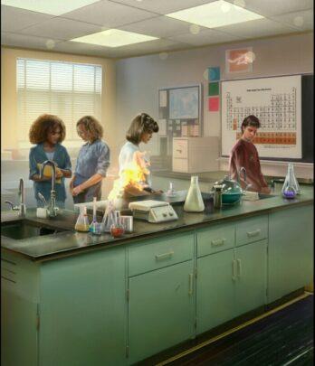 Пожар на лабораторной по химии - клуб романтики любовь со звёзд