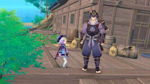 Прохождение квеста Судьба бойца в Genshin Impact