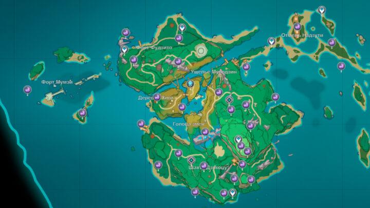 Электрокулы на острове Ясиори