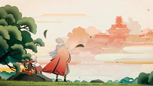 Прохождение квеста Осенний ветер, багряные листья в Genshin Impact