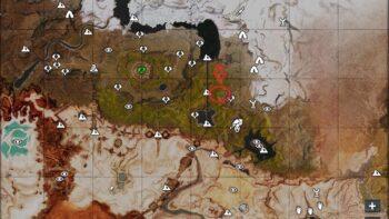 Жеребцы на карте 1