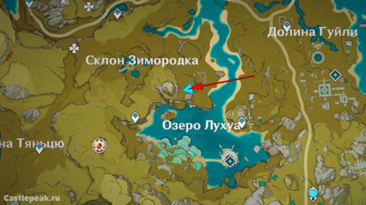 Головоломка с пиро столбами на карте