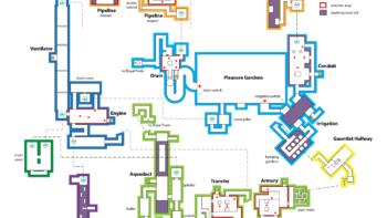 Карта Левиафана вид сверху