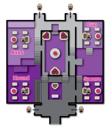 Карта королевских купален в Destiny 2
