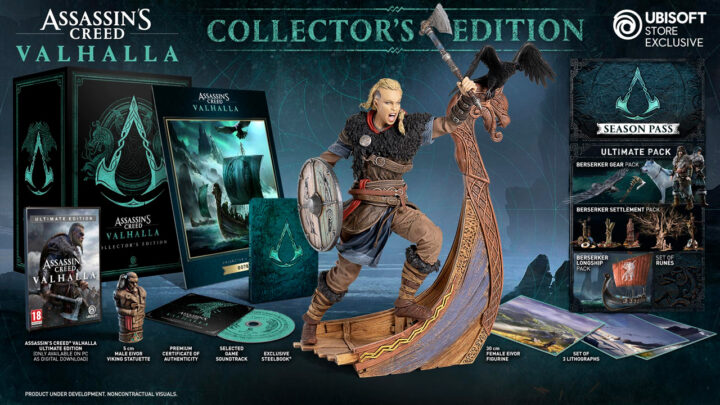 Коллекционное издание Assassin's Creed Valhalla