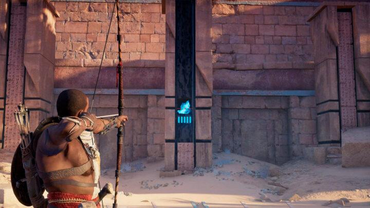 Колонна в квесте Дар Богов - Assassin's Creed Origins