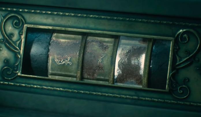 Комбинация для третьей статуи в Resident Evil 2 Remake