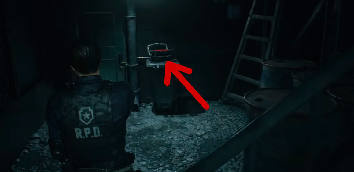 Кусачки в Resident Evil 2 Remake
