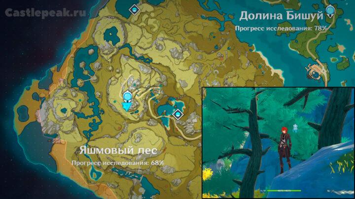 Сосна в Яшмовом лесу