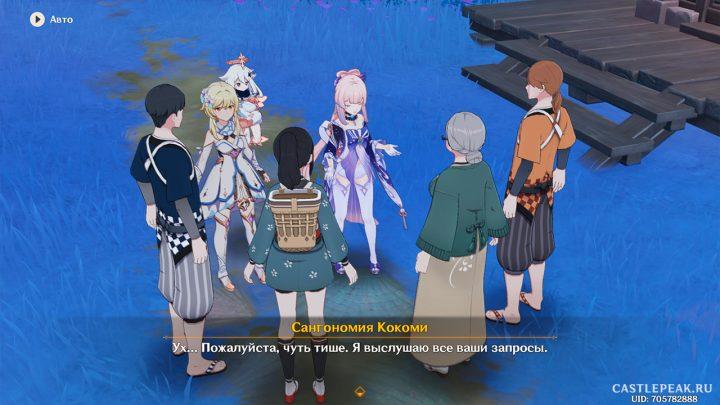 Люди, имеющие дела к Кокоми - Genshin Impact
