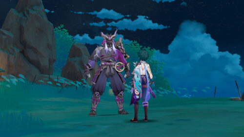 Прохождение квеста Мечты о фехтовании в Genshin Impact