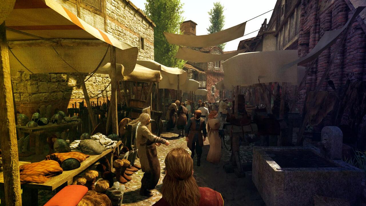 Торговые ряды и мастерские в Mount and Blade 2: Bannerlord