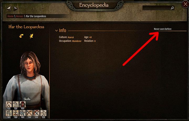 Местоположение персонажа