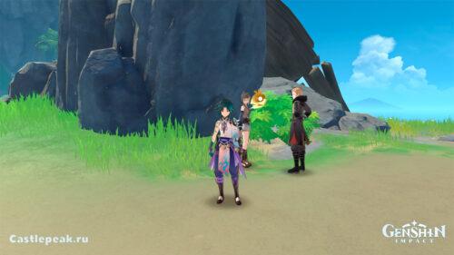 Прохождение квеста Руины под замком в Genshin Impact