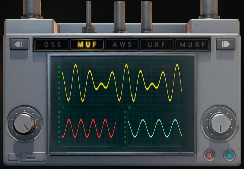Настроенный модулятор сигнала в Resident Evil 2