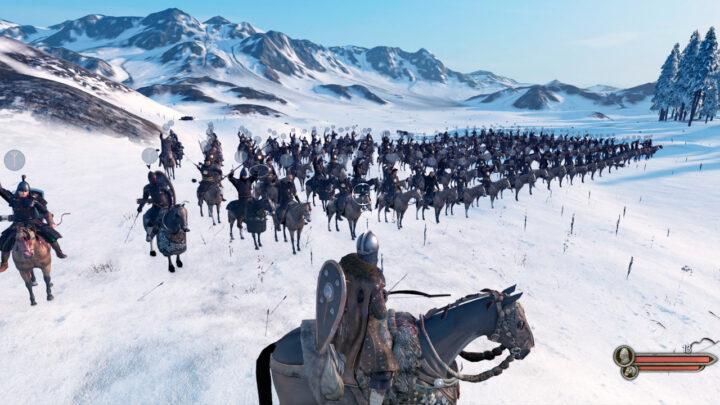 Отряд лучников на лошадях