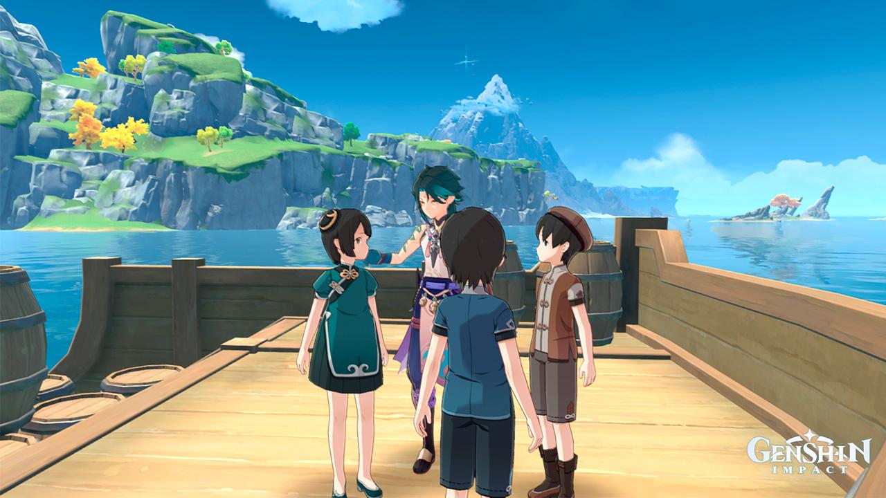 Задание Пираты в Ли Юэ в Genshin Impact