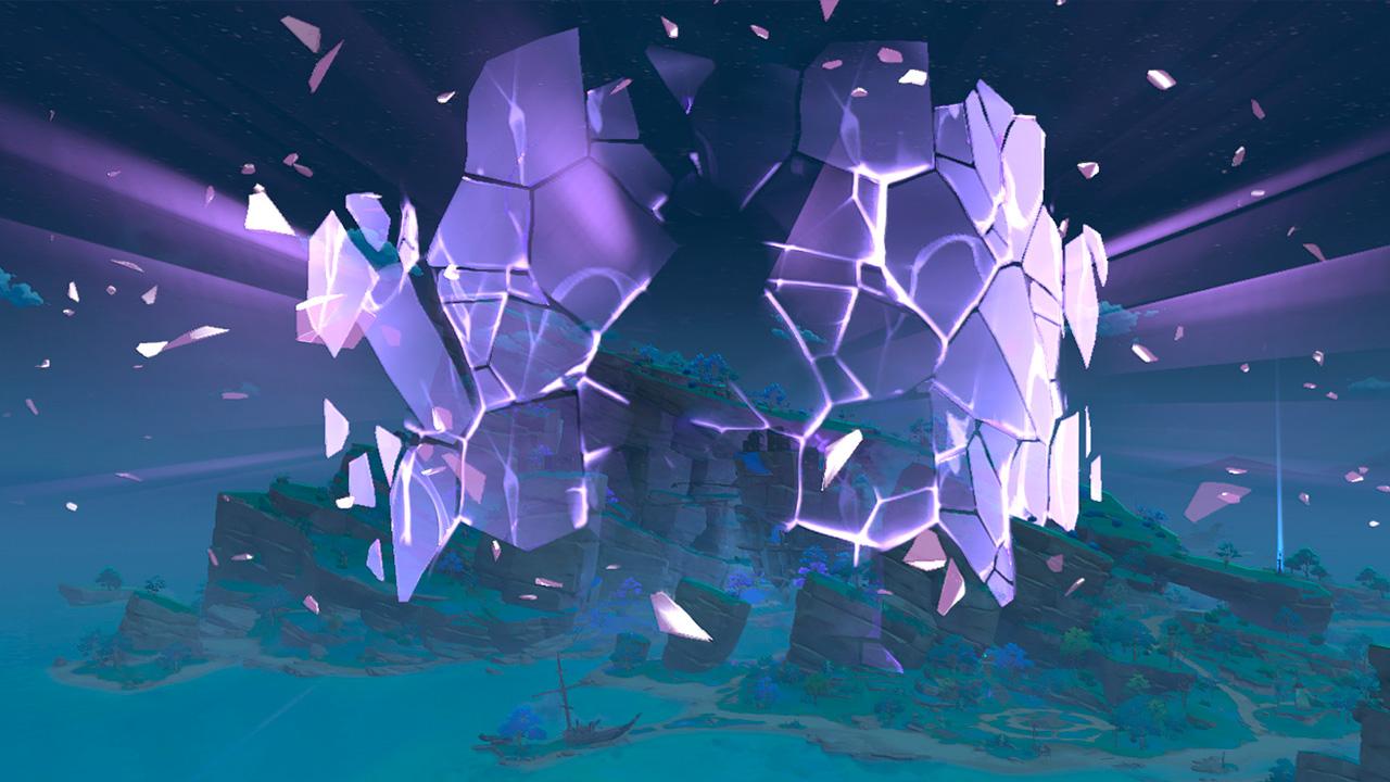 Снятие купола в Татарасуне - Genshin Impact