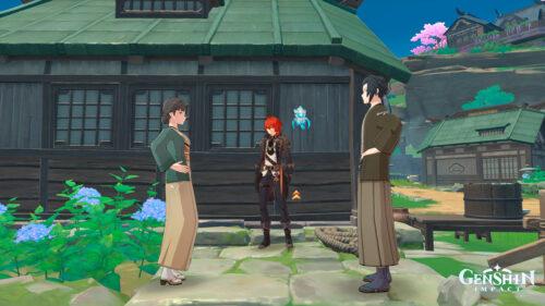 Прохождение квеста «Дом, что лежит за океаном» в Genshin Impact