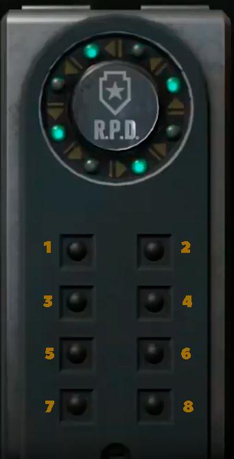 Подбор кода от сейфа в Resident Evil 2 Remake