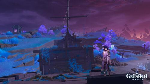 Решение головоломок на корабле «Сэйраймару» в Genshin Impact