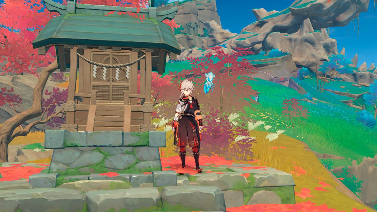 Святилище в Genshin Impact