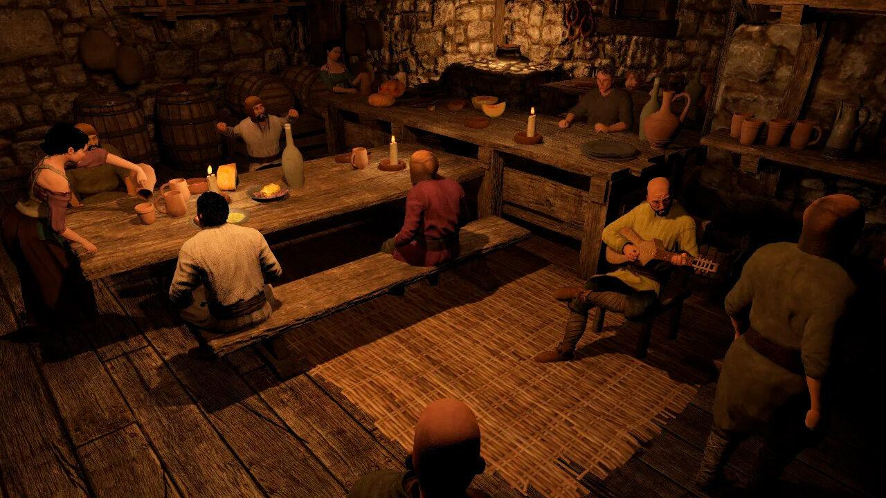 Таверна в Mount & Blade 2: Bannerlord