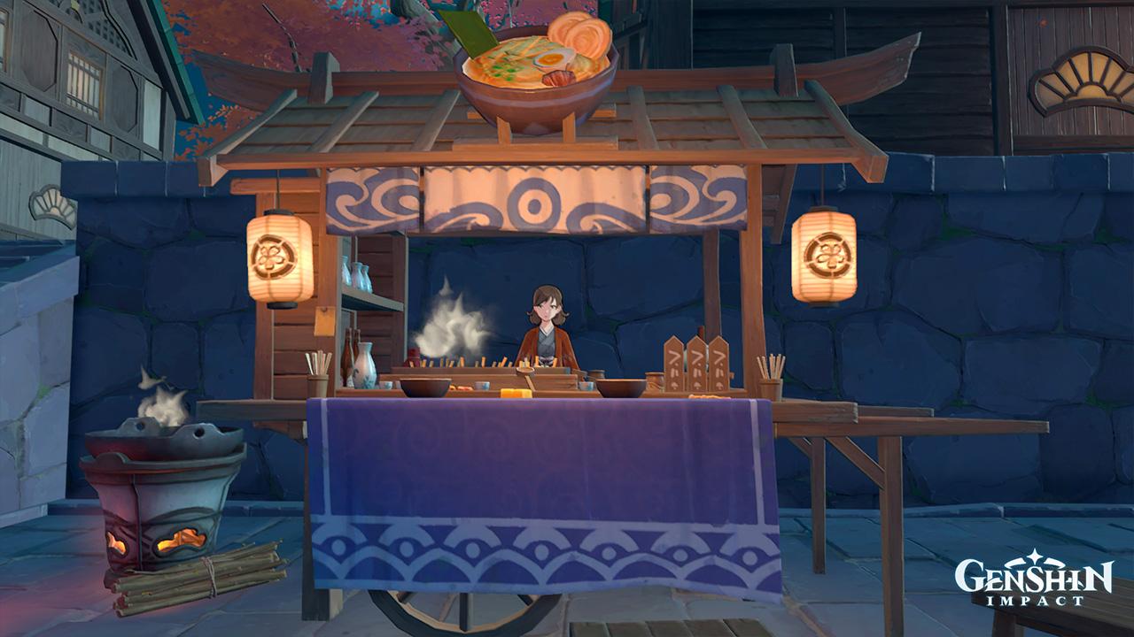 Торговец в Genshin Impact