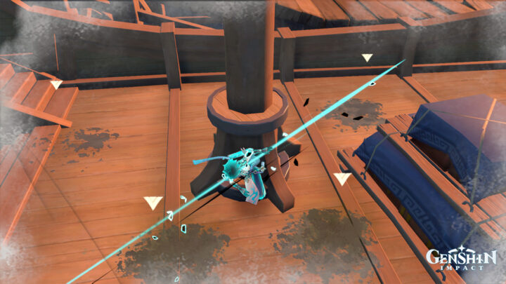 Уборка палубы в Genshin Impact