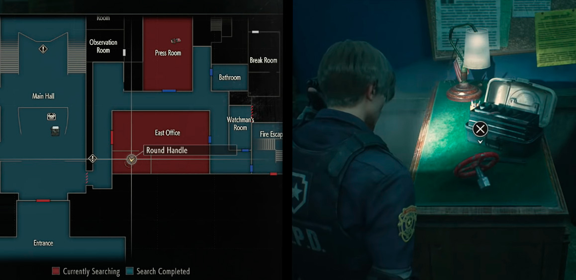 Вентиль в Resident Evil 2 Remake