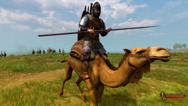 Верблюд в Mount & Blade 2: Bannerlord отличная замена лошади
