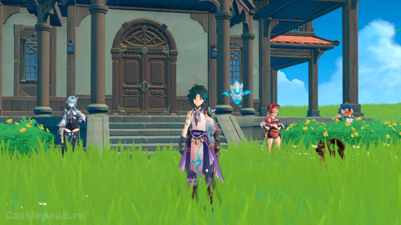 Заселённые в чайник безмятежности персонажи | Genshin Impact