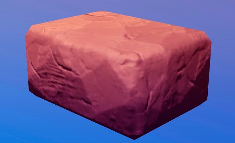 Сухой кирпич в Рафт