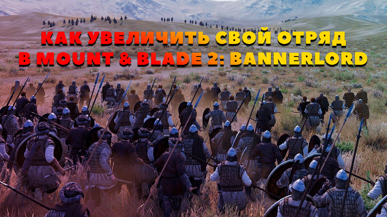Отряд в Mount & Blade 2: Bannerlord